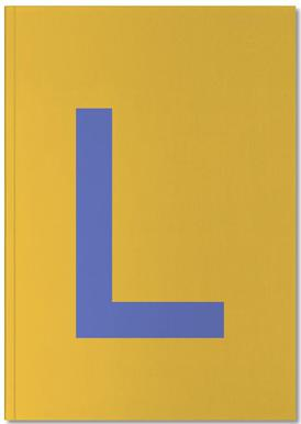 Yellow Letter L Notebook
