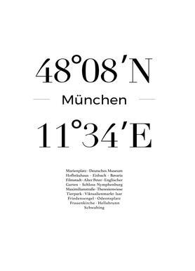 München -Leinwandbild