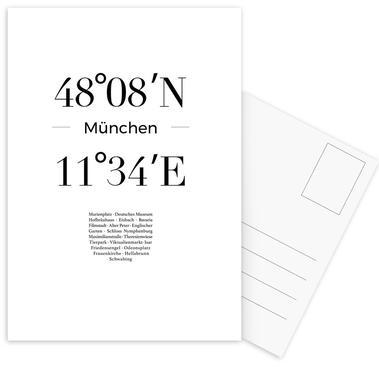 München -Postkartenset
