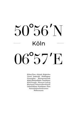 Köln alu dibond