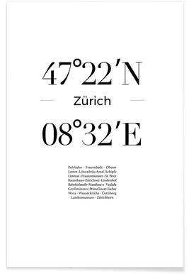 Zürich -Poster