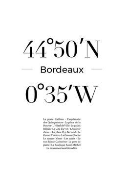 Bordeaux alu dibond