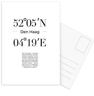 Den Haag Postcard Set