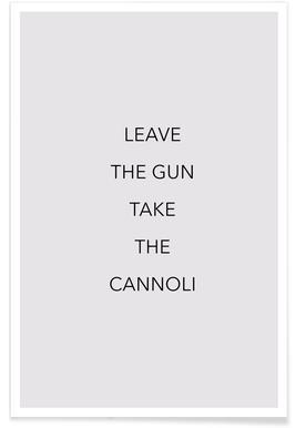 Leave the Gun -Poster
