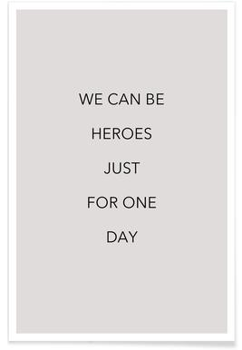 We Can Be Heroes -Poster