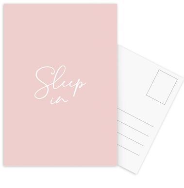 Sleep in - Pink