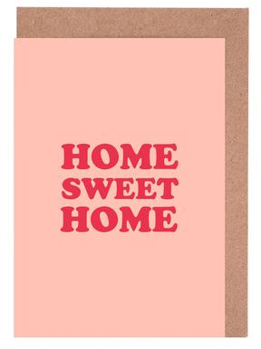 Home Sweet Home - Pink