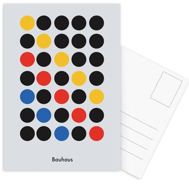 Primary Pattern Postcard Set