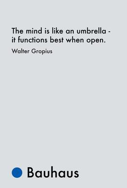 Gropius - Creativity Aluminium Print