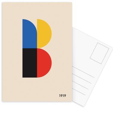 B for Bauhaus Postcard Set