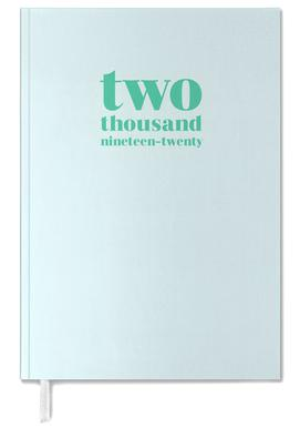 Two Thousand Nineteen/ Two Thousand Twenty Mint Personal Planner
