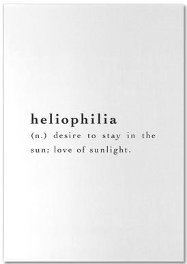 Heliophilia bloc-notes