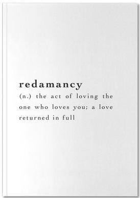 Redamancy Notebook