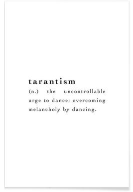 Tarantism -Poster