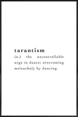 Tarantism -Bild mit Kunststoffrahmen
