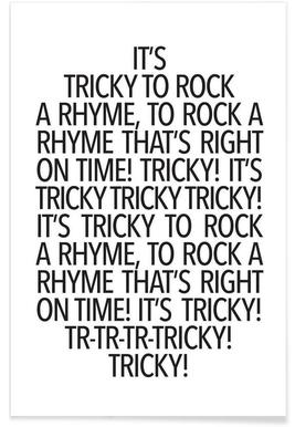 Rock a rhyme -Poster