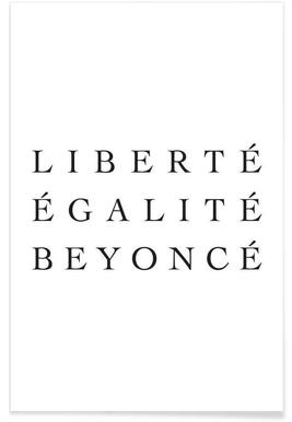 LIBERTÉ -Poster