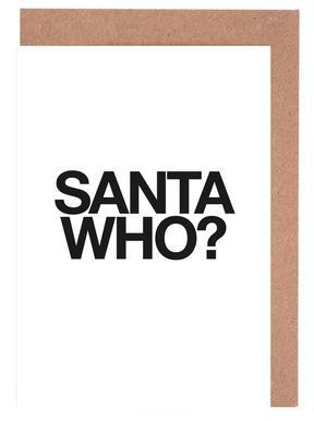 Santa Who? Greeting Card Set