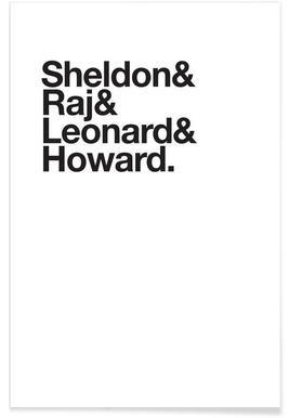 Science Heroes -Poster