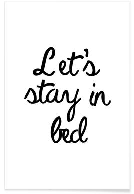 Let's Stay In Bed