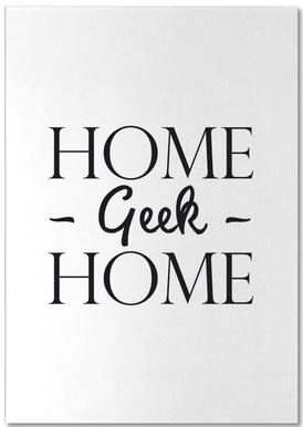 Home Geek Home bloc-notes