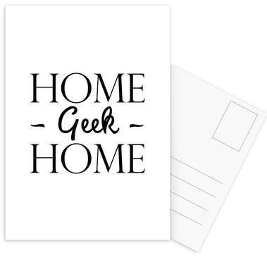 Home Geek Home cartes postales