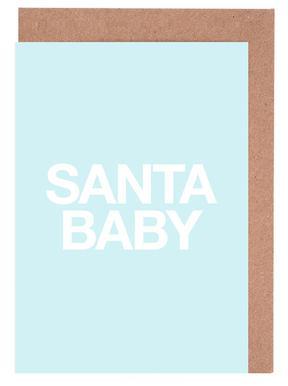 Santa Baby Blue