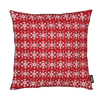 Snowflakes Red-White