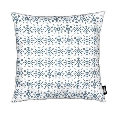 Snowflakes White-Blue