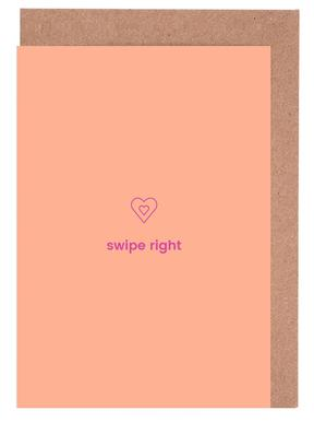 Love Me Tinder Greeting Card Set