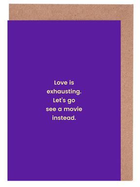 Romance vs. Reality Greeting Card Set