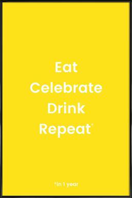 Celebration Rotation 2 ingelijste poster