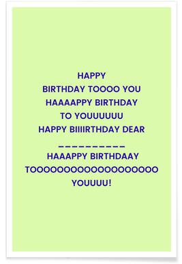 Happy Birthday to You -Poster