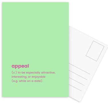 Appeal Postcard Set