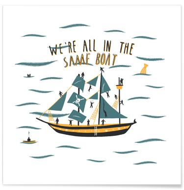 All in the Same Boat -Poster