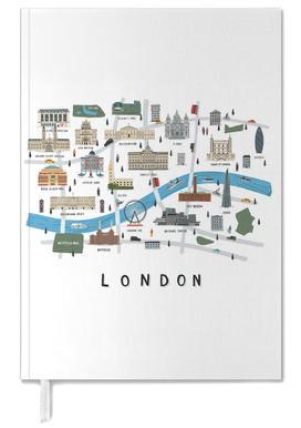 London Map -Terminplaner