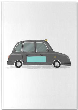 London Taxi Notebook