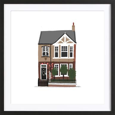 House 2 Framed Print