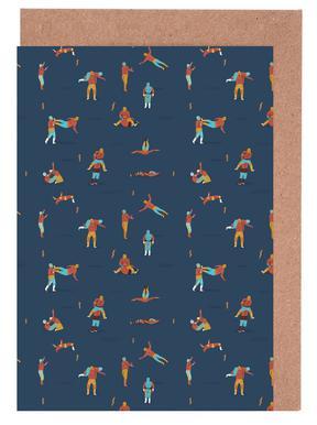 Lucha Libre -Grußkarten-Set
