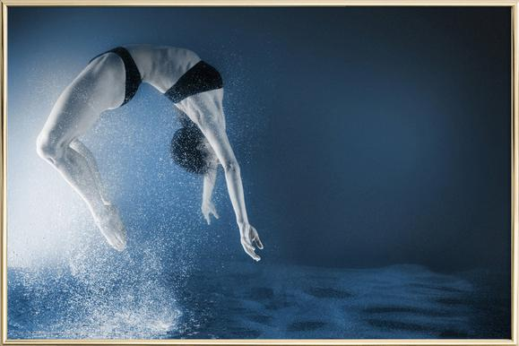 Dance, Dance, Dance 11 -Poster im Alurahmen