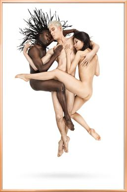 Dance, Dance, Dance 23 -Poster im Alurahmen