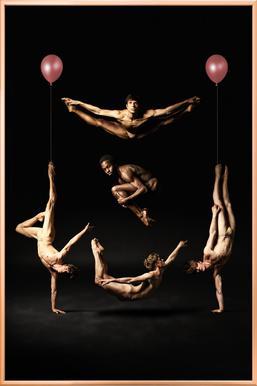 Dance, Dance, Dance 37 -Poster im Alurahmen