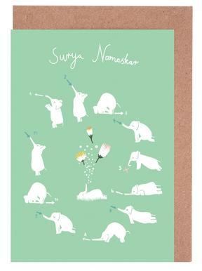 Sun Greeting -Grußkarten-Set
