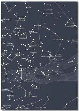 Carte du Ciel I bloc-notes