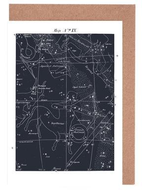Sagittarius Blue -Grußkarten-Set