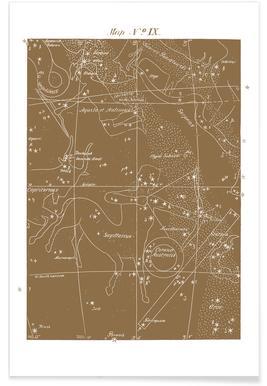 Sagittarius Gold - Premium Poster