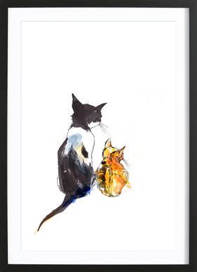 Karlo & Klara Framed Print