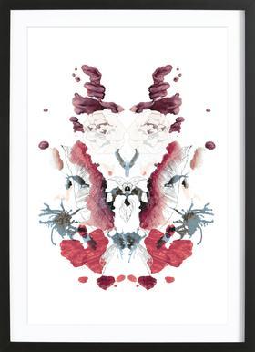 Mirror ingelijste print