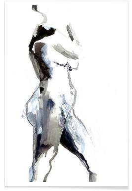 Nude 2 - Premium poster