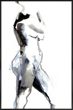 Nude 2 - Affiche sous cadre standard